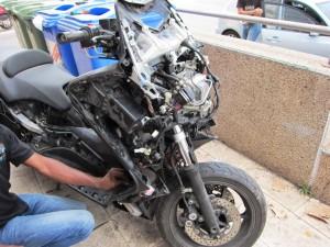 פירוק והרכבה של יחידת האימובילייזר ומחשב האופנוע