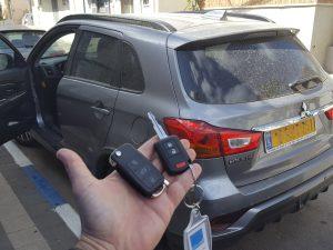 שכפול מפתח לרכב מיצובישי ASX 2016