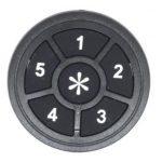 לוח מקשים עגול לרכב שברולט/קיה